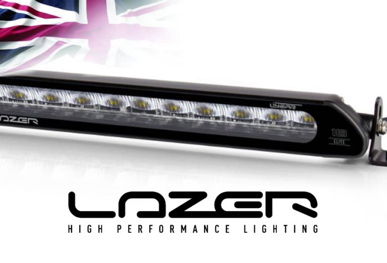 Lazer linear banner