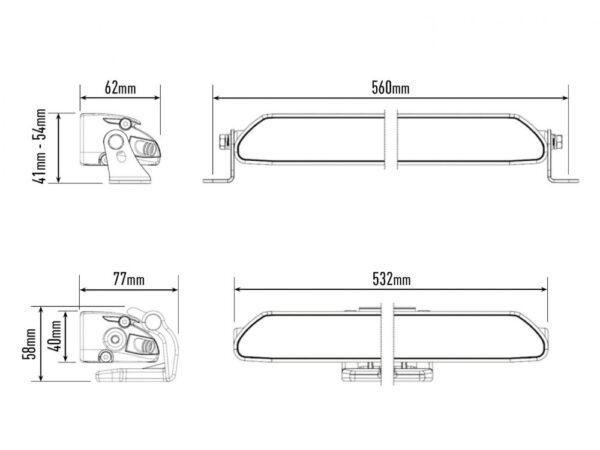 Lazer Linear-18 ELITE parktuledega kaugtuli