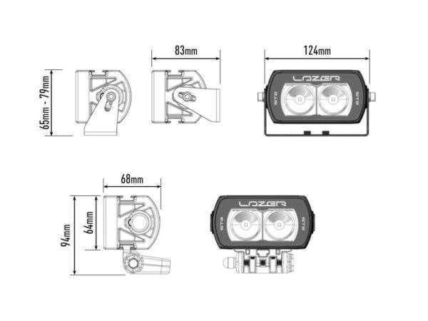Lazer ST2 Evolution kaugtuli
