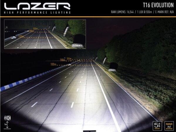 Lazer T16 Evolution kaugtuli